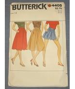 Butterick pattern 4405 - Skirt Culotte & Shorts... - $4.00