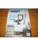 Budget Low Cost Decorating Ideas Magazine - $3.00