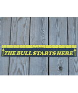 The Bull Starts Here Dart Throw Line Marker FRE... - $5.95