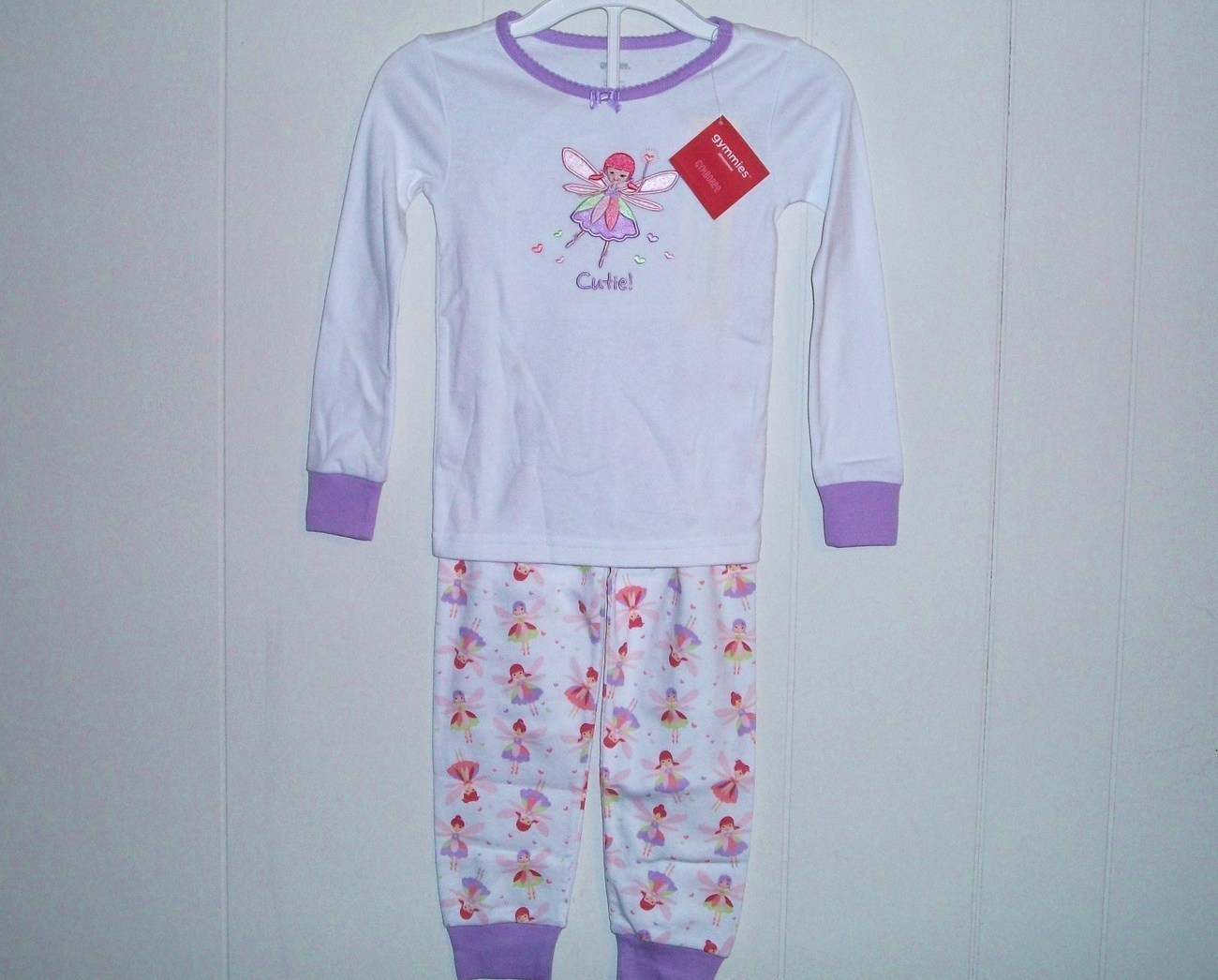 Gymboree Fairy Sleep Line 2 Piece Fairy Pajama Set 5 New