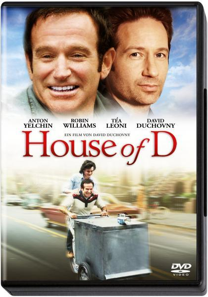 House of D WS Special Ed DVD David Duchovny Robin Williams