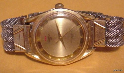 1960  MENS WALTHAM 65 JEWEL AUTO WATCH WORKING