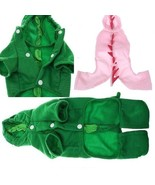 M size Cute Dinosaur Outfits for Dog Christmas ... - $6.99