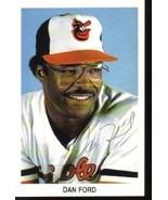 Dan Ford Autographed Baltimore Orioles Postcard... - $5.99