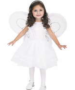 NIB Deluxe Angel Princess Girls Costume w/ Wing... - $32.99