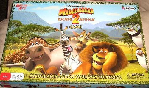 MADAGASAS GAME ESCAPE TO AFRICA