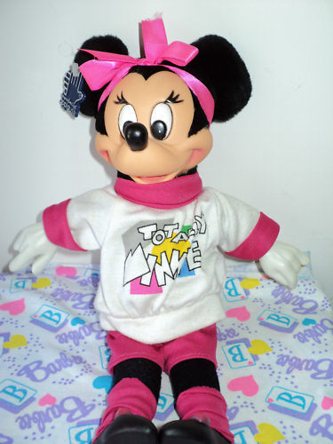 Vintage 1988 Disney TOTALLY MINNIE Applause Plush VHTF