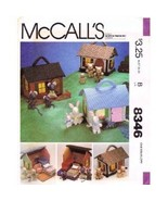 McCall's 8346 Miniature House Furniture and Families Pattern - $20.00