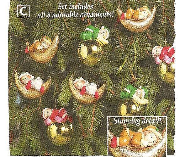 Heavenly Peace Baby Christmas Ornaments