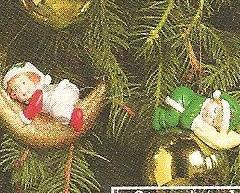 Image 1 of Heavenly Peace Baby Christmas Ornaments