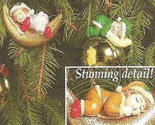 Image 3 of Heavenly Peace Baby Christmas Ornaments