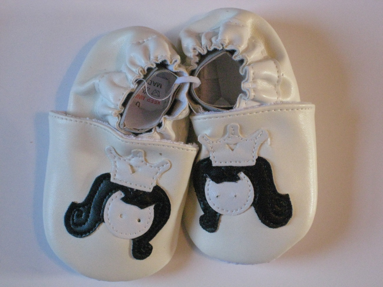 Girls,Soft Sole Baby Shoes Size 0-6 Months