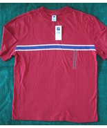 Gap Kids Boys Red Stripe Cotton Tee Shirt Size ... - $5.00