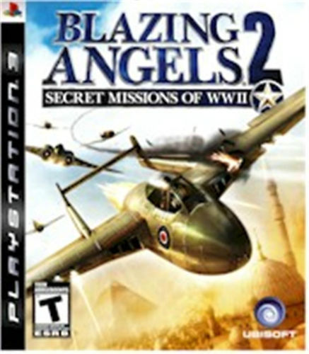 PLAY STATION 3 BLAZING ANGELS 2:SECRET MISSION WWII