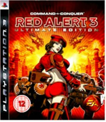 PlayStation 3 Game Command & Conquer Red Alert 3