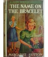 Judy Bolton #13 THE NAME ON THE BRACELET Margar... - $24.00