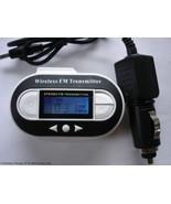 Fm Transmitter USB Port Car Adapter with Temper... - $7.39