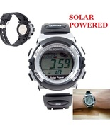 Solar Powered Sports Watch Wrist Watch NO NEED ... - $5.99