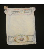 Vintage Hanky Hosiery Bag Handcrafted Cotton Em... - $8.00