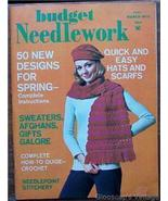 Budget Needlework Magazine, March1972 V1 No3 Stitchery