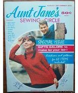 Aunt Jane's Sewing Circle Magazine, Aug Sep 197... - $4.50