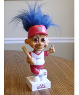 St. LOUIS CARDINALS BASEBALL RUSS TROLL BOBBLE HEAD 1992