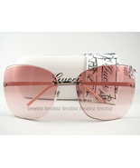 New Gucci Sunglasses GG 4217/s Palladium Pink KUJN8 Authentic