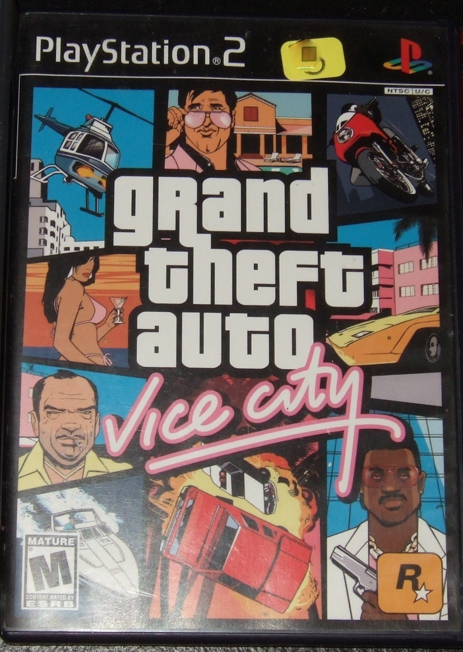 GRAND THEFT AUTO VICE CITY PS2 Playstation 2