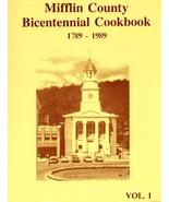 Mifflin County Bicentennial Cookbook - $13.00