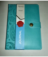 C.R.GIBSON MARKINGS TEAL SMOOTH FAUX LEATHER PA... - $14.99