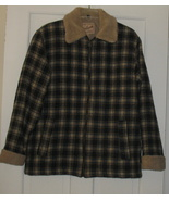 Vintage Women's Woolrich Plaid Quilted Jacket S... - $69.50