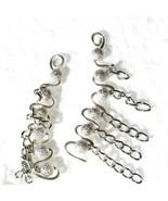 Silver Plated Ear Wrap Cuffs Earring Pins  - $12.95