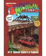 Sinister Spiders of Saginaw Michigan Chillers S... - $9.95