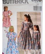 Butterick 4405 Vintage 80s Pattern Girls 4 to 6... - $5.95
