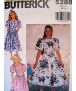 Butterick 5288 Vintage 80s Pattern Girls 12 to ... - $9.95