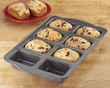 Buy kitchen bakeware - Mini Eight Loaf Baking Pan Kitchen Bakeware Cookware