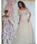 Butterick 6000 Vintage 80sUnused Womans Wedding... - $9.95