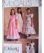 McCalls 8640 New Pattern Girls 7 to 10 Dress Fl... - $8.95