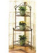 Corner Plant Stand 3 Shelf Bakers Rack - $63.00