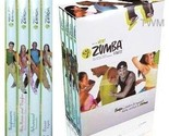 Buy Fitness - Zumba Fitness Latin Workout Routine 4 Dvds Box Set
