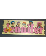 Bubble Guppies Customized Wooden Sign girl - $11.50