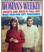 Woman's Weekly Magazine, January 29 1972 Jackets Knitting & Fiction