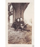 Vintage Photo Man & Woman in Knee High Leat... - $11.04