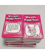 Lot of 20 Colgate Toothpaste Happy Tooth Card Game - $9.95