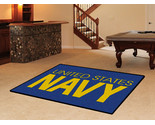 Buy Fanmats Navy 5' x 8' Area Rug (horizontal)
