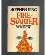 Fire-Starter, Stephen King,1980,Hardcover Book ... - $6.00