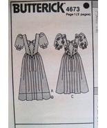 Butterick 4673 Vintage 80s Unused Womans Brides... - $9.95