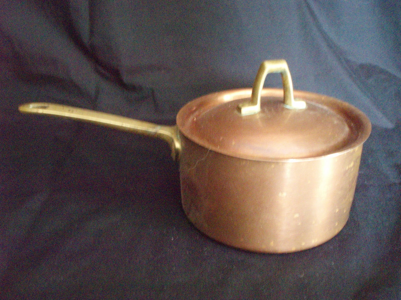 VTG copper 1 qt saucepan w/lid Revereware Limited Edition