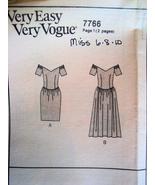 Vogue 7766 Vintage 80s Unused Womans Brides Mai... - $9.95