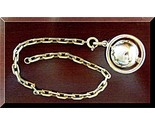 Buy Charms - Gold 14K Link Bracelet w Pendant Charm World turning 14 gram